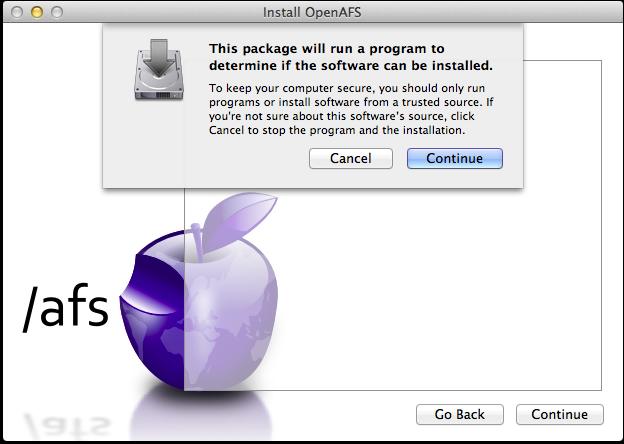 AFS for macOS | Documentation
