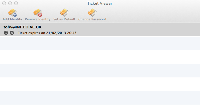 Kerberos for macOS   Documentation