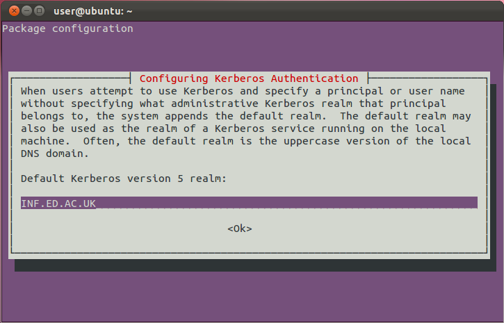Kerberos for Ubuntu | Documentation