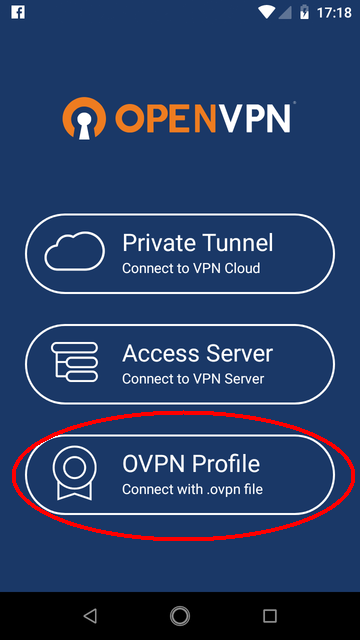 OpenVPN for Android | Documentation
